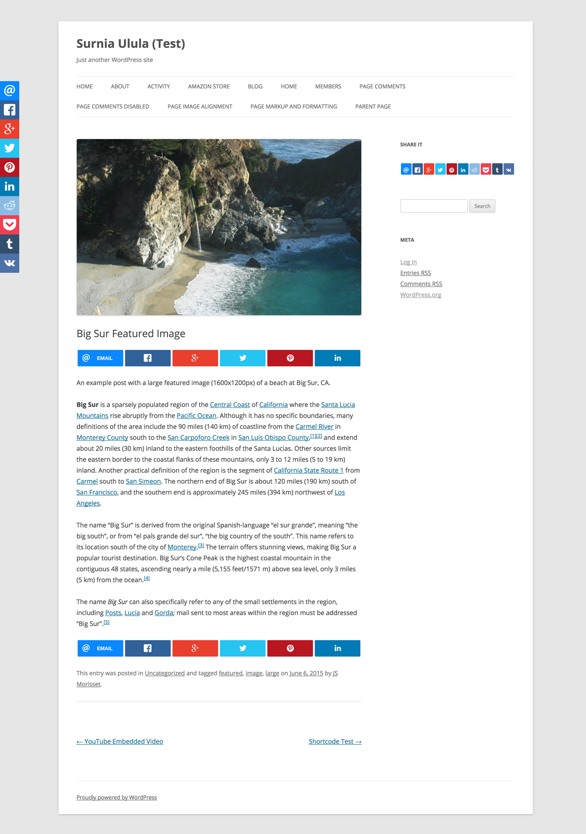 WPSSO RRSSB – Ridiculously Responsive Social Sharing Buttons